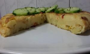 Tortilla gewone met komkommer 3