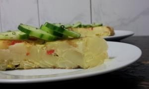 Tortilla gewone met komkommer 4