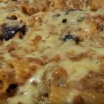Tortiglioni met Vleessaus – Aubergine – verschillende Kaassoorten uit de oven