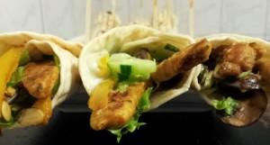 wrap met gegrilde kip en groenten 3