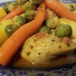 Marmita met Kip, Aardappelen, Wortels en Hollandse Spruitjes