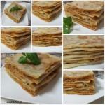 Remsemen-Lasagne; Remsemen – Lemsemen gevuld met Tomaten-Gehaktsaus
