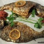 Vis; Dorade uit de oven