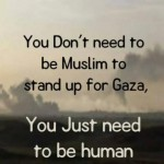 Stand up for Palestine; Demonstratie