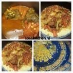 Couscous Lamsvlees met Witte Kool en overige