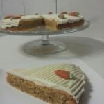 Worteltaart-Carrot Cake-Karottenkuchen-Rueblitorte