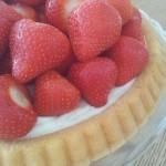Taart: Aardbeien-Koninkjes