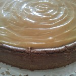 Käsekuchen-Cheesecake-Kwarktaart: Chocolate-Coffee-Dulce Leche