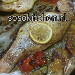 Vis uit de Oven Voorbereiding