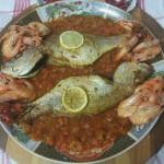 Vis uit de Oven met Charmilla en Gamba