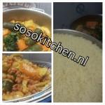 Couscous Lamsvlees en Groenten