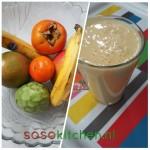 Smoothie Banaan-Mango-Kaki