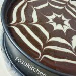 Käsekuchen-Cheesecake-Kwarktaart Millionaires Shortbread voorbereiding