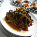 Marmita-Tajine Lamsvlees met Sperziebonen en Olijven en Pruimen