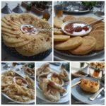 Marokkaanse Pannenkoeken op een rij