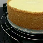 Cheesecake-Käsekuchen-Kwarktaart Met Rand !