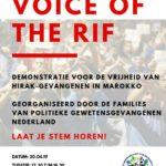 Demonstratie Voor De Vrijheid Gevangenen Hirak, 20 April, Den Haag!