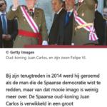 Spanje Maakt Zich Op Voor Koningsdrama: Juan Carlos Mogelijk Verbannen Uit Paleis
