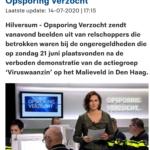 Beelden Relschoppers Den Haag In Opsporing Verzocht