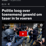 Politie Loog Over Toenemend Geweld