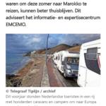Telegraaf: 'Ga Niet Naar Marokko Deze Zomer'