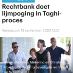 Rechtbank Doet Lijmpoging In Taghi-proces