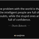 The Problem With The World Is…