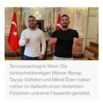 Terrornacht In Wien: Türkische Männer Vollbringen Heldentat