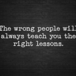 The Wrong People…