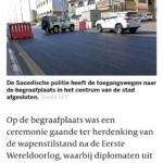 """De Dag Van De """"Wapenstilstand"""""""