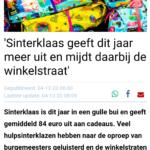 'Sinterklaas Geeft Dit Jaar Meer Uit En Mijdt Daarbij De Winkelstraat'