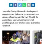 Danny Ghosen Aangehouden Tijdens Interview