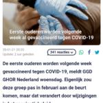 Eerste Ouderen Worden Volgende Week Al Gevaccineerd Tegen COVID-19