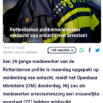 Rotterdamse Politiemedewerker Verdacht Van Ontucht Met Arrestant