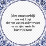 Quote Van De Dag!