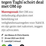 Kroongetuige In Proces Tegen Taghi Schort Deal Met OM Op