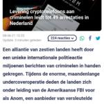 Levering Cryptotelefoons Aan Criminelen Leidt Tot 49 Arrestaties In Nederland
