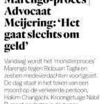 #Marengo-Proces: Kroongetuige Nabil B. Wil Alleen Achter Gesloten Deuren Toelichten Waarom Hij Niet Meer Verklaart