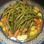 Marmita met Lamsvlees, Aardappelen, Wortels en Sperziebonen