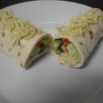Wrap met gezonde Salade en zelfgemaakte Saus