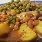 Marmita Konijn met Aardappelen, Doperwten en Rozijnen