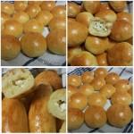 Bojos; gevulde zachte Broodjes met Kaas en Peterselie