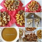 Kerstdiner; Kipnuggets, mini Groente-Loempias, Aardappelkroketjes, Stokbrood met Italiaanse twist
