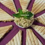 Quesadillas met home made Kipspread