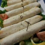 Wraps met Kip-Groenten-Kaas uit de oven