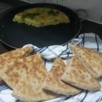 Tortilla Zongedroogde Tomaat en Volkoren Thashnieft