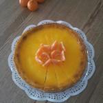 Käsekuchen Orange-Tangerine