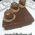 Chocoladetaart Ganache-Melkchocolade
