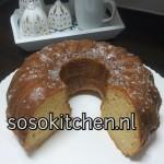 Tulband-Gugelhupf Kokos-Honing