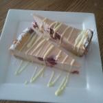 Käsekuchen-Cheesecake-Kwarktaart: 'Cherry'